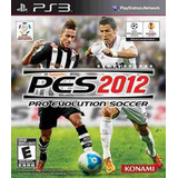 Pro Evolution Soccer Pes 2012 Ps3 Nuevo Solo En Igamers
