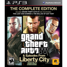 G. T. A 4 Complete Edition Español - Mza Games Ps3