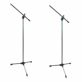 Pedestal Suporte Para Microfone Ask Tpl Kit 2 Peças