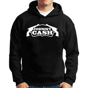 Casaco Moletom Johnny Cash Folk Rock King Blusa De Frio M06 b0d367d83c4