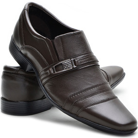 Sapato Social Couro + 1 Sapatilha + 1 Carteira