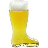 Stolzle Bierstiefel Una Botella De Cerveza De Cristal De Vid