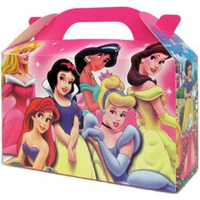 Princesas Bolsita Golosinera Souvenir Valijita Pack X 10 Un.