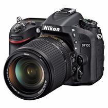Camara Reflex Nikon D7100 Kit 18-140 Full Hd 24mp Sup D7000