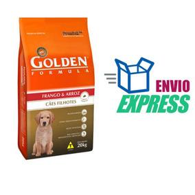 Ração Golden Cães Filhotes Frango Arroz 20 Kg