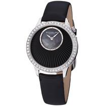 Reloj Stuhrling Original Radiant Dama Mujer Negro Joyas