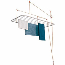 Varal De Teto Maxeb Com 1,0m X 56cm - 6 Varais - Resistente