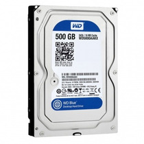 Hd Interno 500gb Sata Iii 6gb/s 7200 Rpm Western Digital