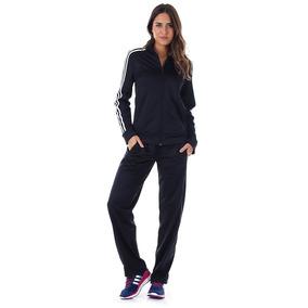 Agasalho Feminino adidas W Kn Ts 1 - Preto