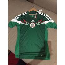 Playera De México (mundial 2014) Nueva.
