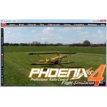 Simulador Voo Phoenix Rc 4.0 Completo - Frete Grátis