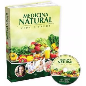 Medicina Natural & Alternativa Com Dvd - Receitas Naturais