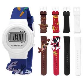 Relógio Infantil Technos Mariner Troca Pulseira Com 5 Pçs