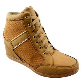 Tênis Cano Alto Botinha Salto Feminino Hrx Sneaker