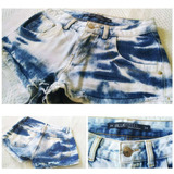 Shorts Jeans Nº 36 Roupa Mulher