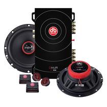 Paquete Db Drive Set De Medios S165cv2 + Amplificador A1502