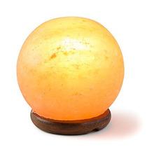 Hechos A Mano Hemingweigh Rock Salt Esfera De La Lámpara De