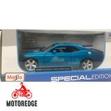 2008 Dodge Challenger Srt8 Azul 1/24 Maisto