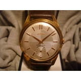 Espectacular Reloj Delbana 1955 Oro Plaque18k 38mm! Una Joya