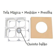 72 Tela Mágica +medidor+presilha Balões Bexigas Painel Festa