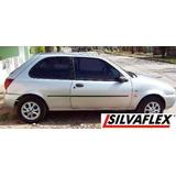 Ford Fiesta 98 / 99 Lx 3 O 5 Pts. Baguetas De Puertas Negras