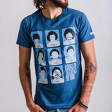 Remera Wing - Maradona Looks - Color Azul Índigo