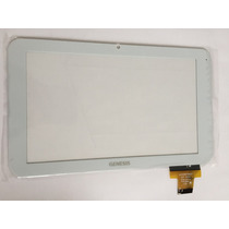 Tela Touch Tablet Genesis Gt 7301 Gt-7301 Branco 7 Polegada