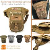 Mochila Campismo Piernera Táctica Militar Camping Multiusos