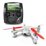 Drone Hubsan X4 H107d Cuadricóotero Camara Fpv Pantalla Lcd