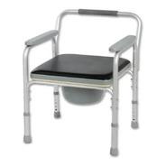 Silla De Baño En Aluminio Ultraliviano Regulable En Altura