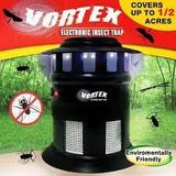 Lampara Vortex Mata Insectos Zancudos Mosquitos Moscos