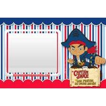 Tarjetas De Cumpleaños Jack Y Los Piratas Personalizadas