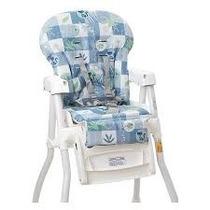 Estofado Da Cadeira Merenda Burigotto Peixinho Azul