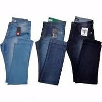 Calça Jeans Masculinas Várias Marcas Kit 3 Peças Promoção