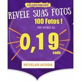 Revelação 100 Fotos 10x15 Alta Qualidade X Menor Preço
