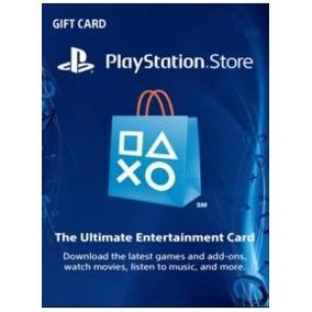 Playstation Network Cartão Psn 50$ Dólares