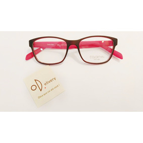 527d2784efa19 Óculos Calvin Klein Modelo Ck 5890 145 Vermelho E Preto