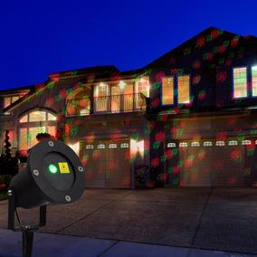 Espeto Projetor Laser 6 Desenhos Enfeite Natal Prova D