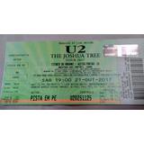 Ingressos U2 Brasil Morumbi Pista 21/10/17 Sábado