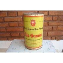 Antigua Lata De 5 Lts. De Aceite Comestible Marca Rio Grande