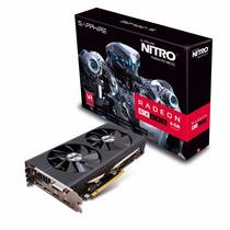 Video Gamer Amd Ati Sapphire Rx 480 8gb Ddr5 Nitro Bluesky