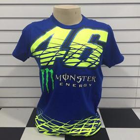 Camiseta Valentino Rossi 46 Vr46 Monster Motogp