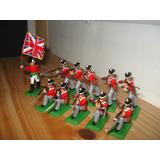 Set Infanteria Inglesa Epoca Colonia Zona Sur Y Caba