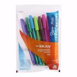 Boligrafo Papermate De Colores Inkjoy 100 X 8 Unidades