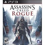 Jogo Novo Assassins Creed Rogue Para Playstation 3 Ps3