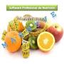 Sofware De Nutricion + Programa De Dietas+control De Peso