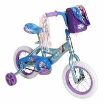 Disney Frozen Bicicleta Huffy R-16 Con Llantitas De Entrenam
