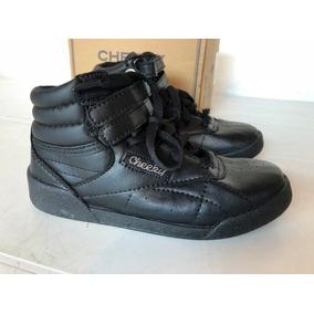 Botitas Zapatillas Cheeky Color Negro T. 32 Nuevas Sin Uso!