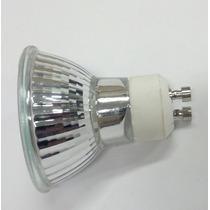 Lâmpada Dicroica Gu10 75w 220v Direto Na Rede Branco Quente