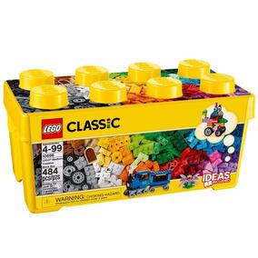 Brinquedos Meninos Meninas Lego Classic 10696 Caixa Amarela